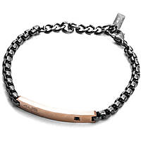 bracelet homme bijoux 4US Cesare Paciotti Rose Day 4UBR2037
