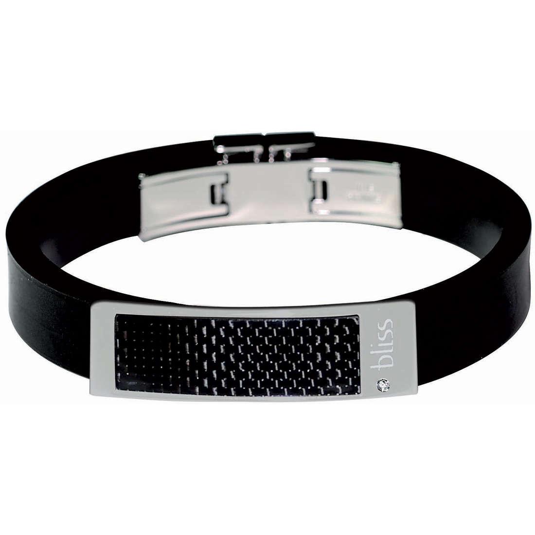 bracelet homme bijoux Bliss Karbonio 20004545