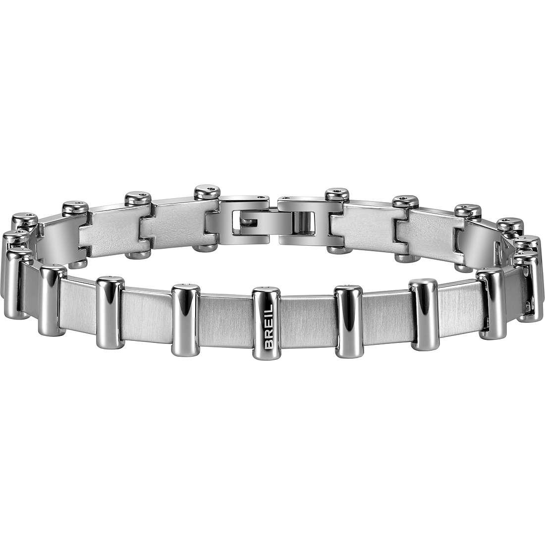 bracelet homme bijoux Breil Bullet TJ1708