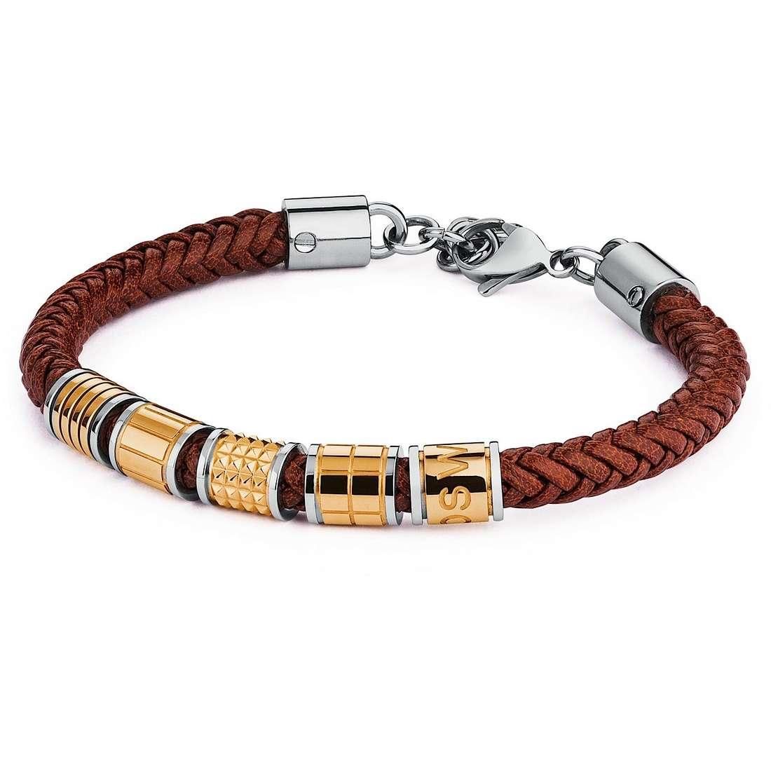 bracelet homme bijoux Brosway Bullet BUL19S