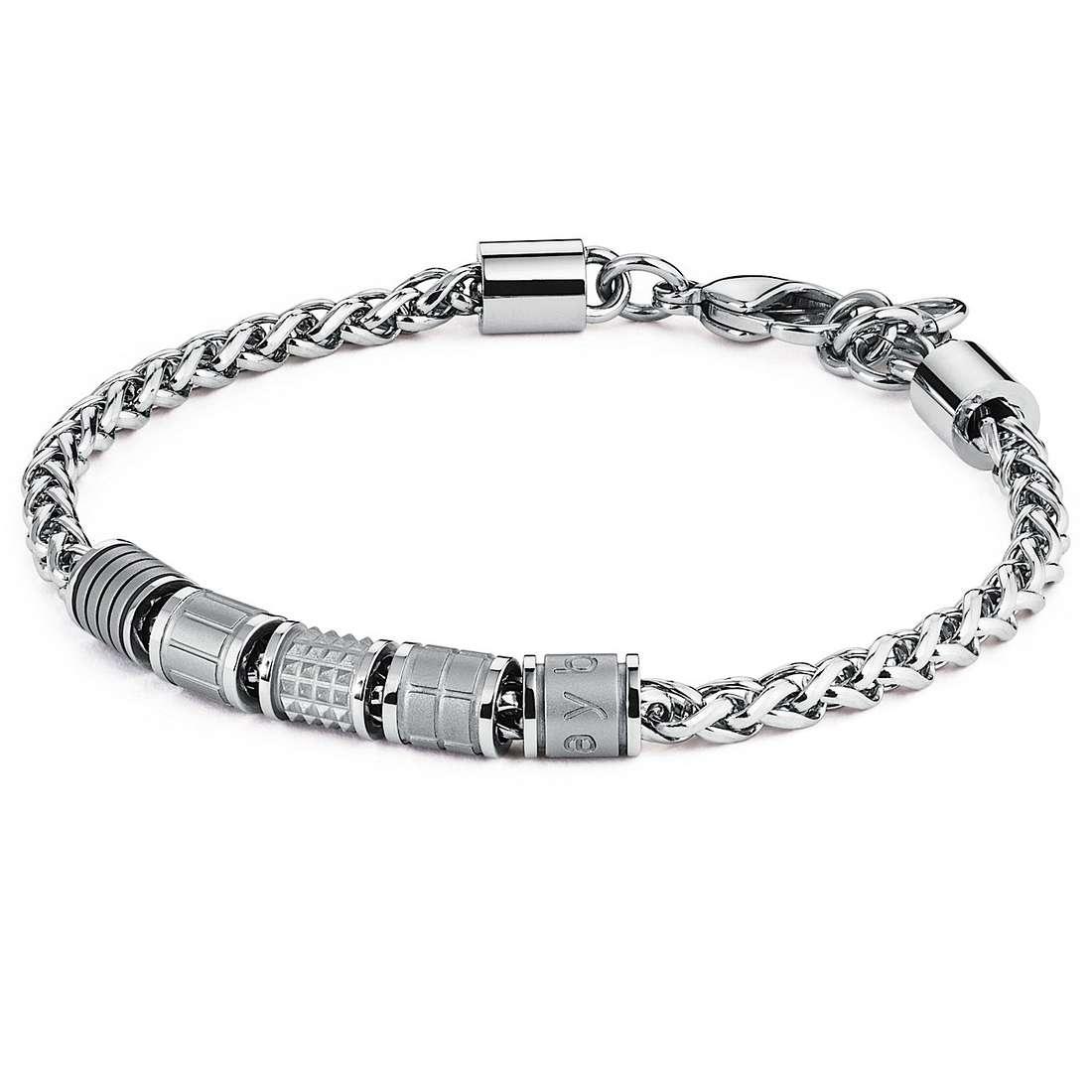 bracelet homme bijoux Brosway Bullet BUL20S