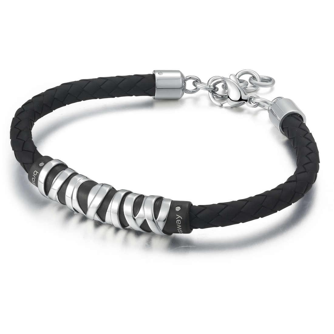 bracelet homme bijoux Brosway Stoneage BOG12S