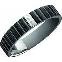 bracelet homme bijoux Calvin Klein Plate KJ5SBB090100