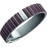 bracelet homme bijoux Calvin Klein Plate KJ5SCB090100