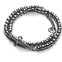 bracelet homme bijoux Cesare Paciotti Ideals JPBR1411B