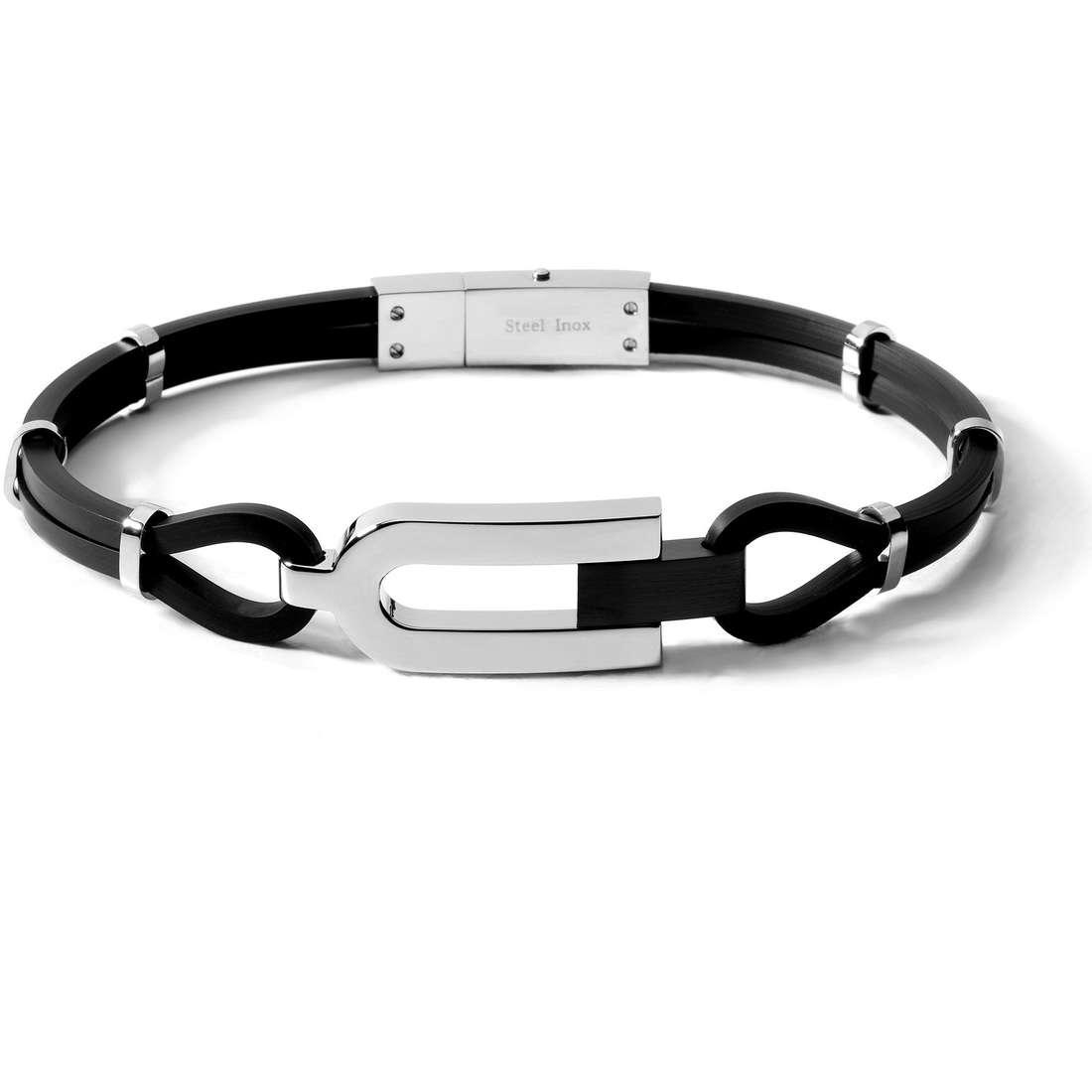 bracelet homme bijoux Comete Acciaio UBR 193