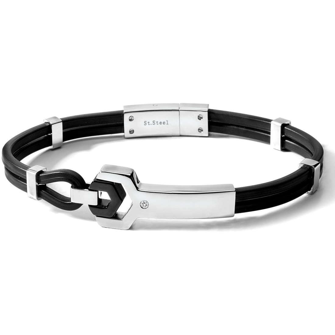 bracelet homme bijoux Comete Acciaio UBR 325