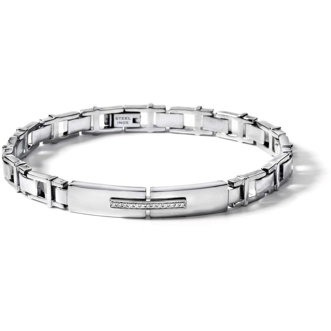 bracelet homme bijoux Comete Acciaio UBR 366