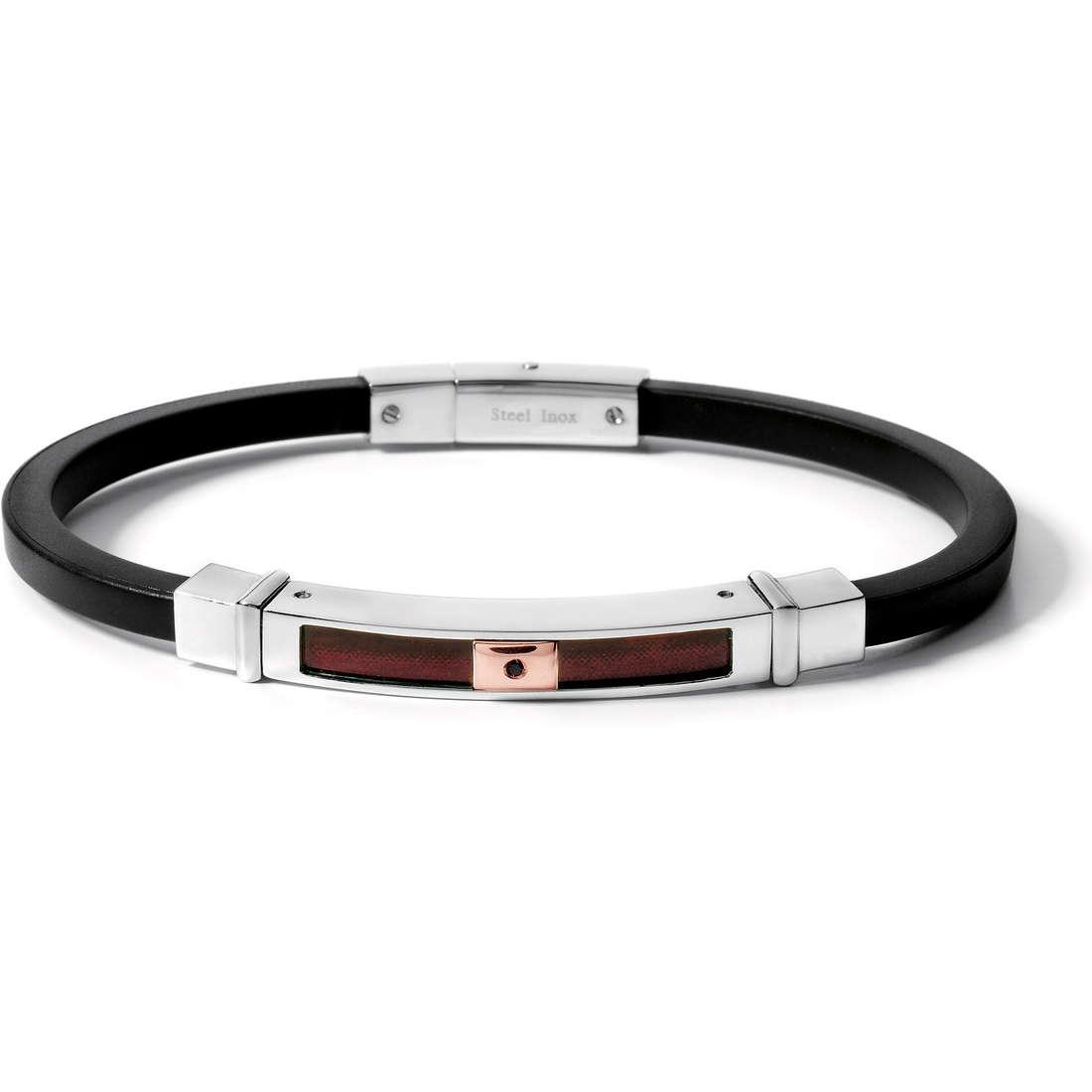 bracelet homme bijoux Comete Acciaio UBR 367