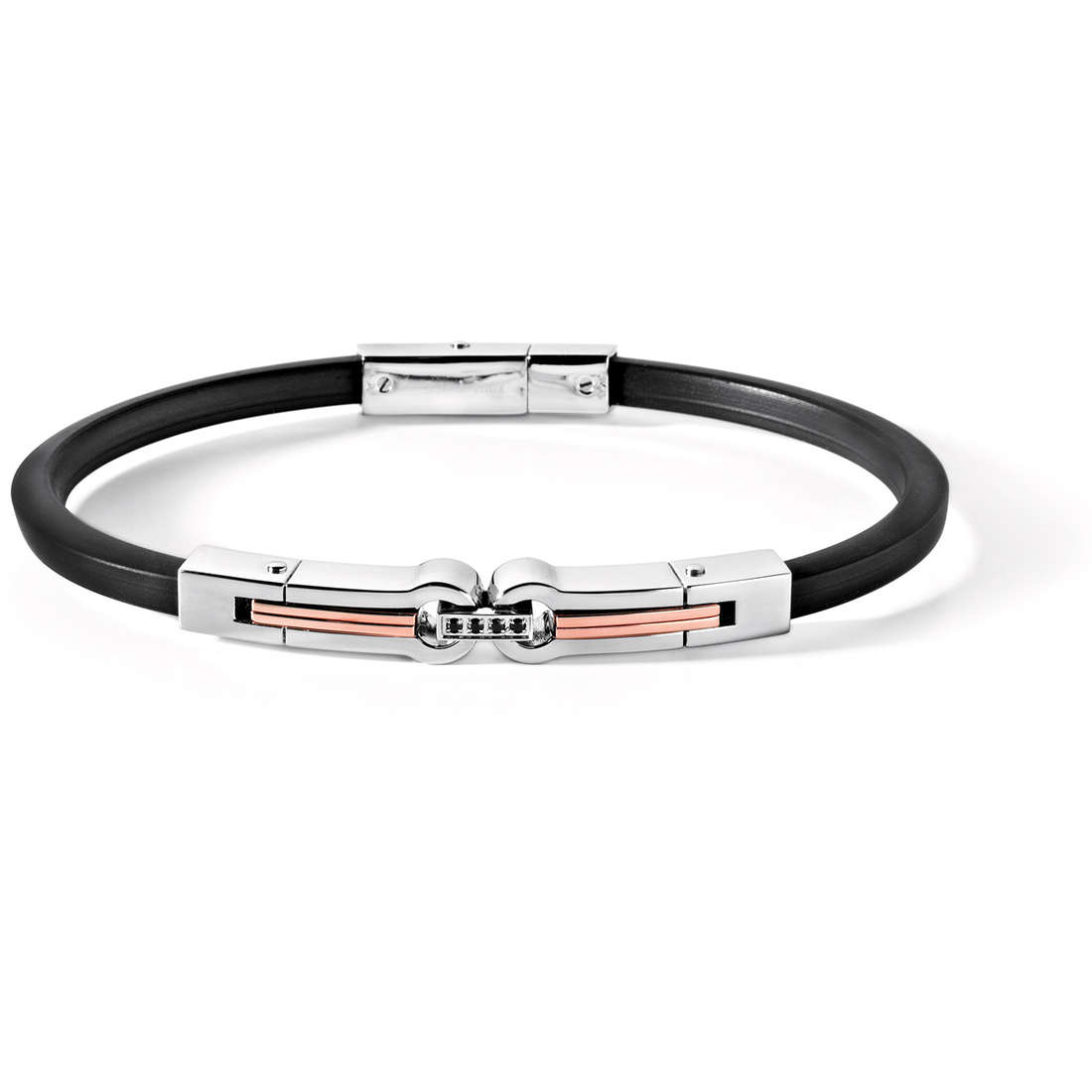 bracelet homme bijoux Comete Acciaio UBR 408