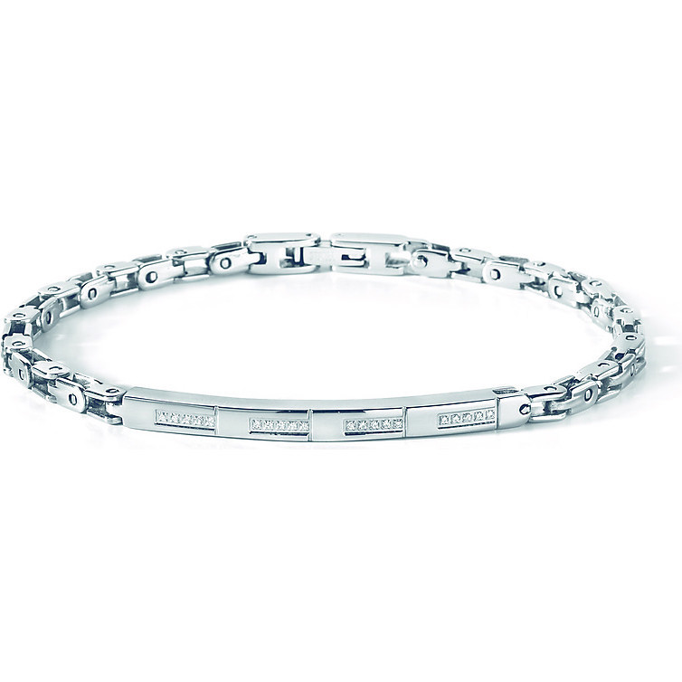 bracelet homme bijoux Comete Acciaio UBR 430