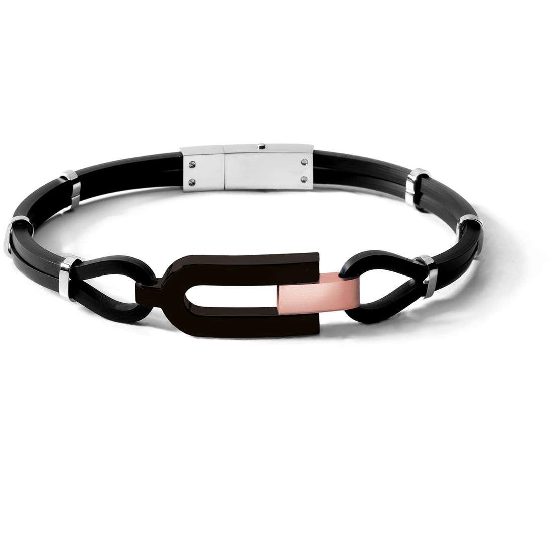 bracelet homme bijoux Comete Acciaio UBR 446