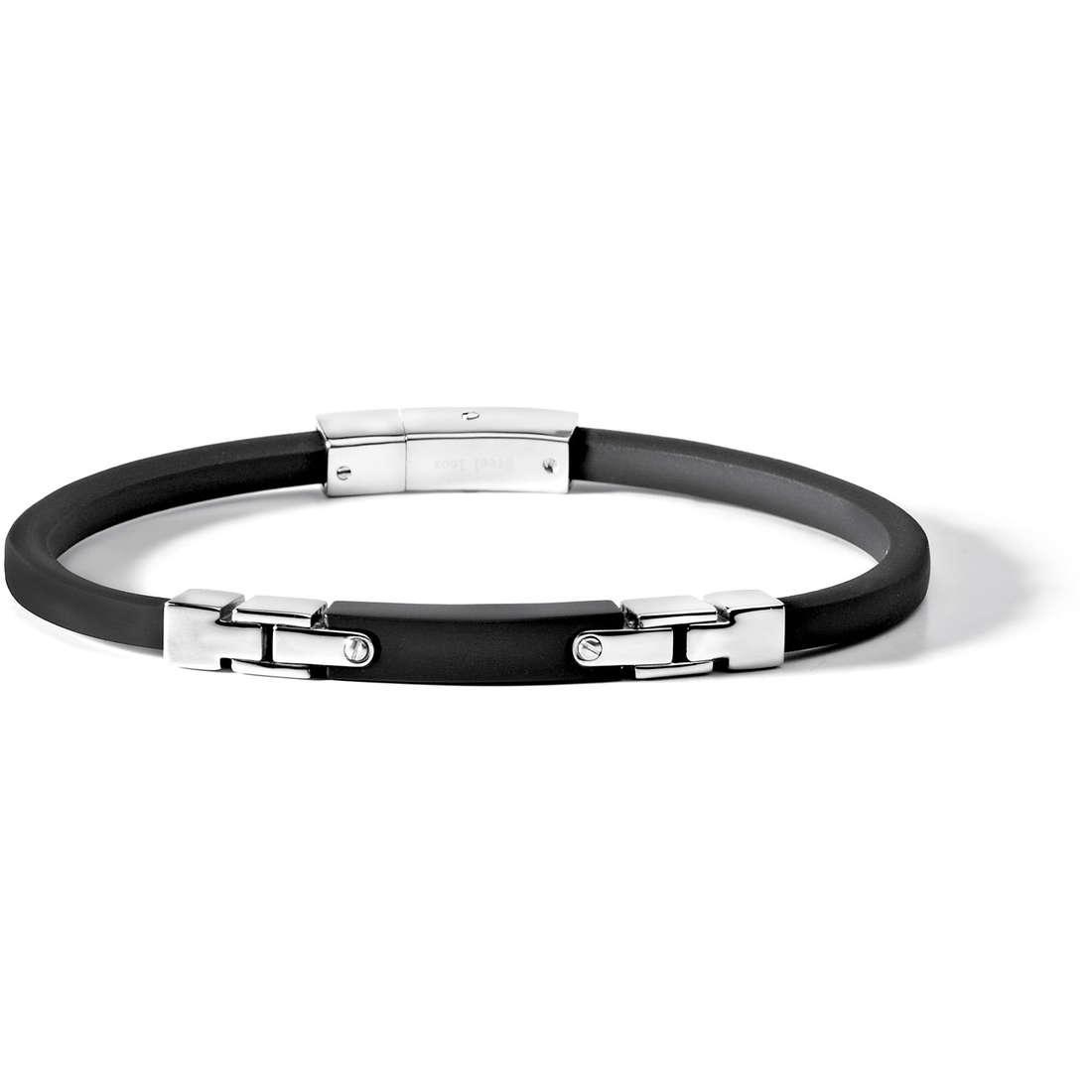 bracelet homme bijoux Comete Acciaio UBR 501