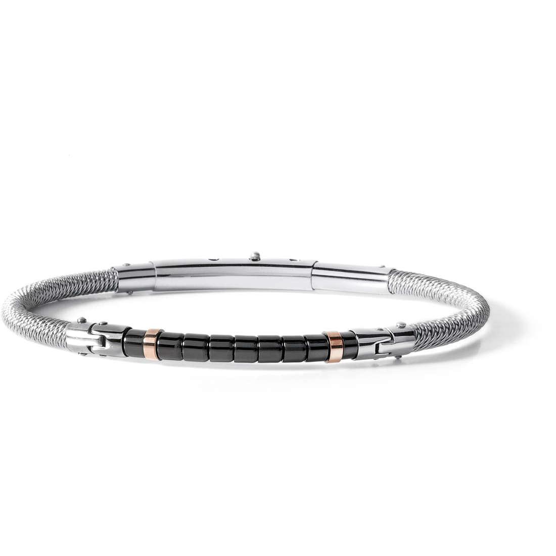 bracelet homme bijoux Comete Acciaio UBR 510