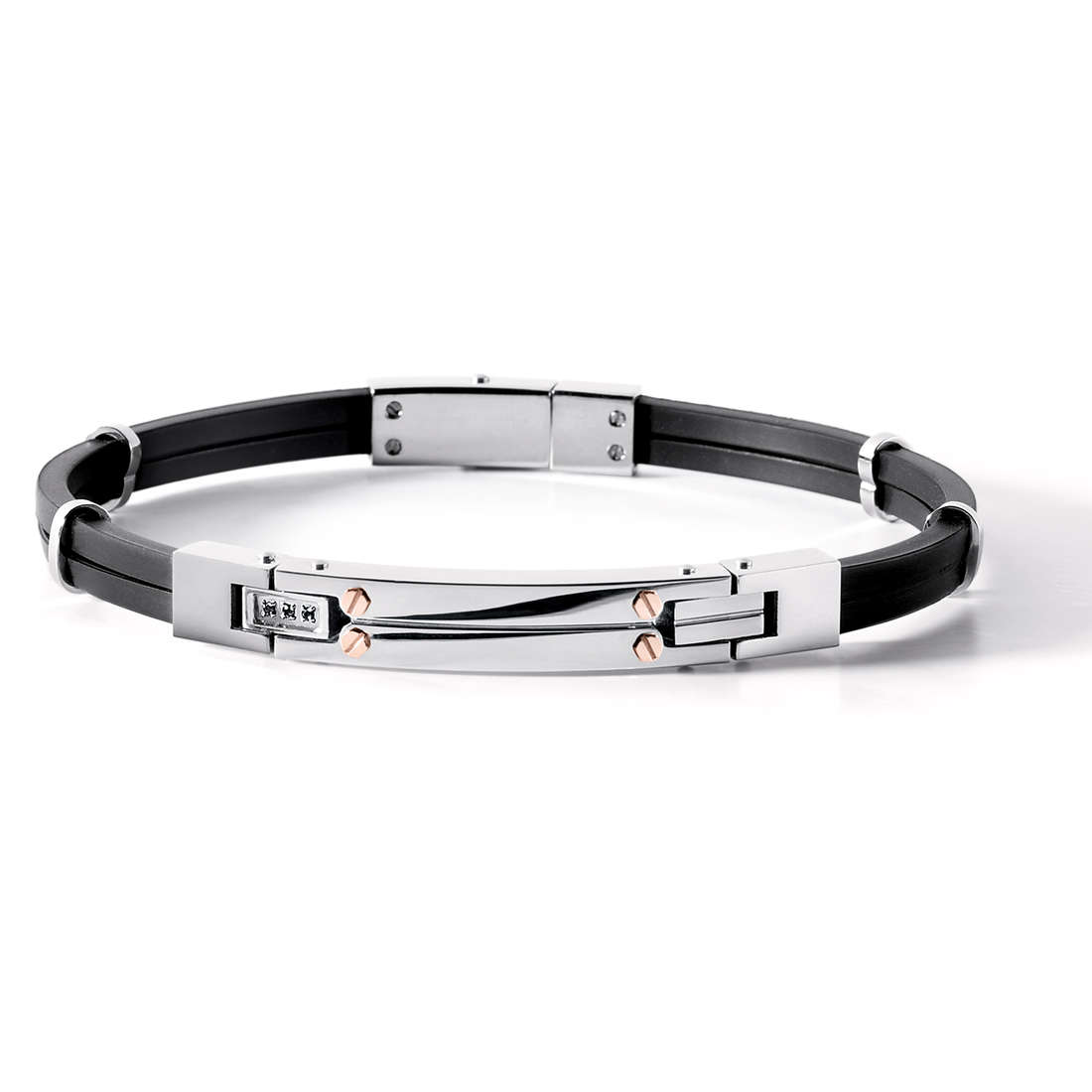bracelet homme bijoux Comete Acciaio UBR 538