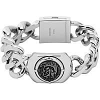 bracelet homme bijoux Diesel Steel DX0800040
