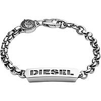 bracelet homme bijoux Diesel Steel DX0993040