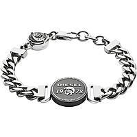 bracelet homme bijoux Diesel Steel DX1090040