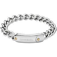 bracelet homme bijoux Diesel Steel DX1114040
