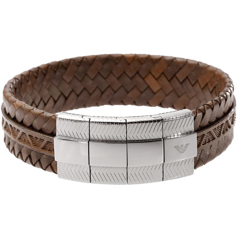 bracelet homme bijoux Emporio Armani EGS1535040