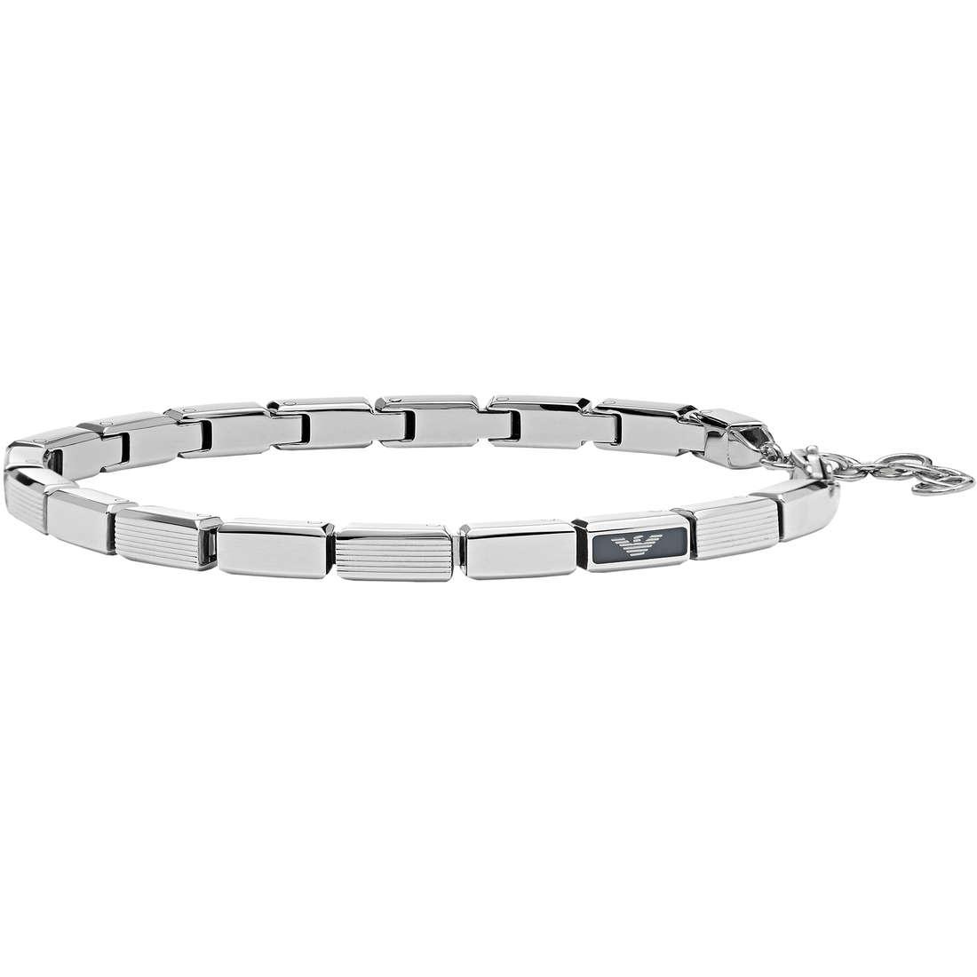 bracelet homme bijoux Emporio Armani Fall 2013 EGS1797040