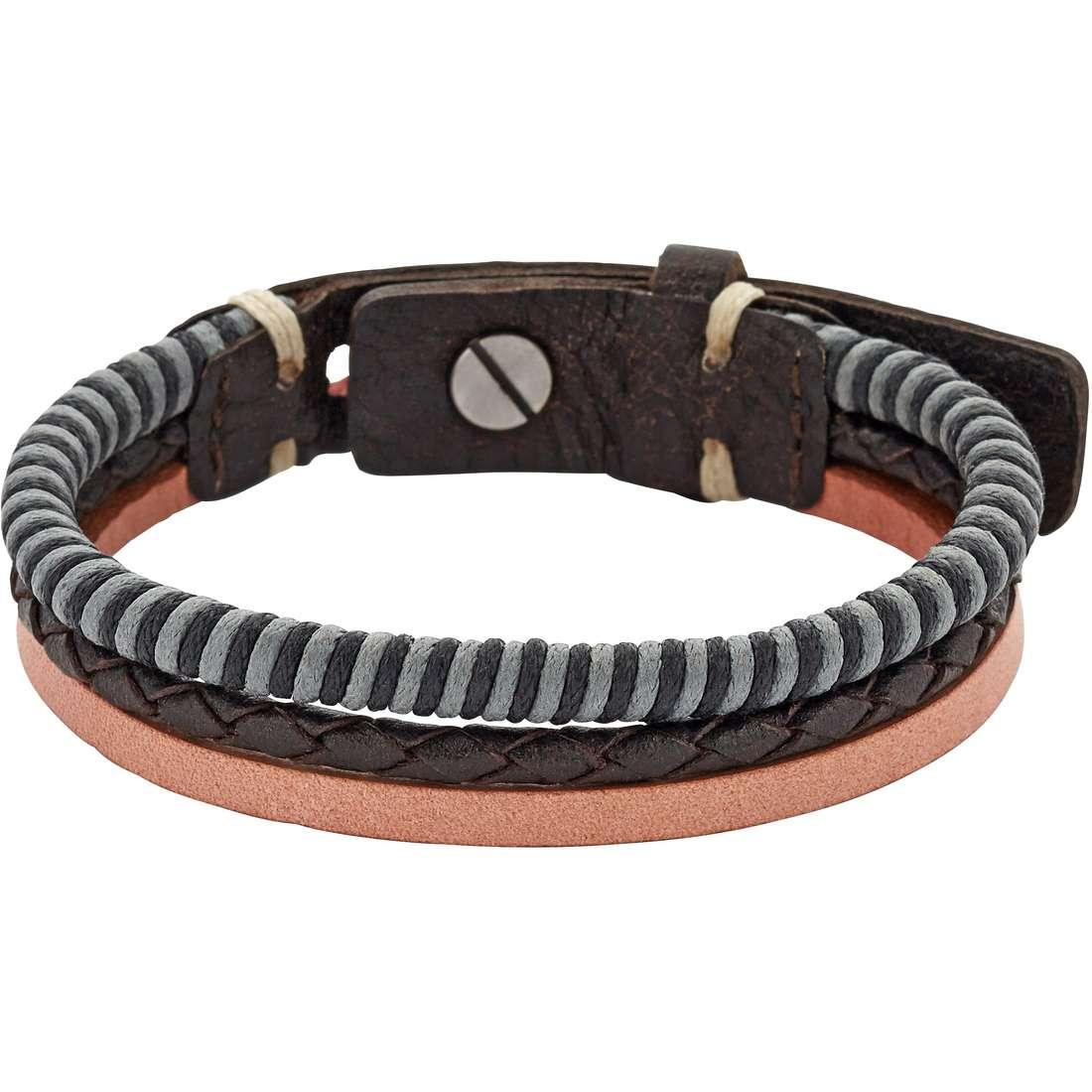 bracelet homme bijoux Fossil Fall 15 JA6757797
