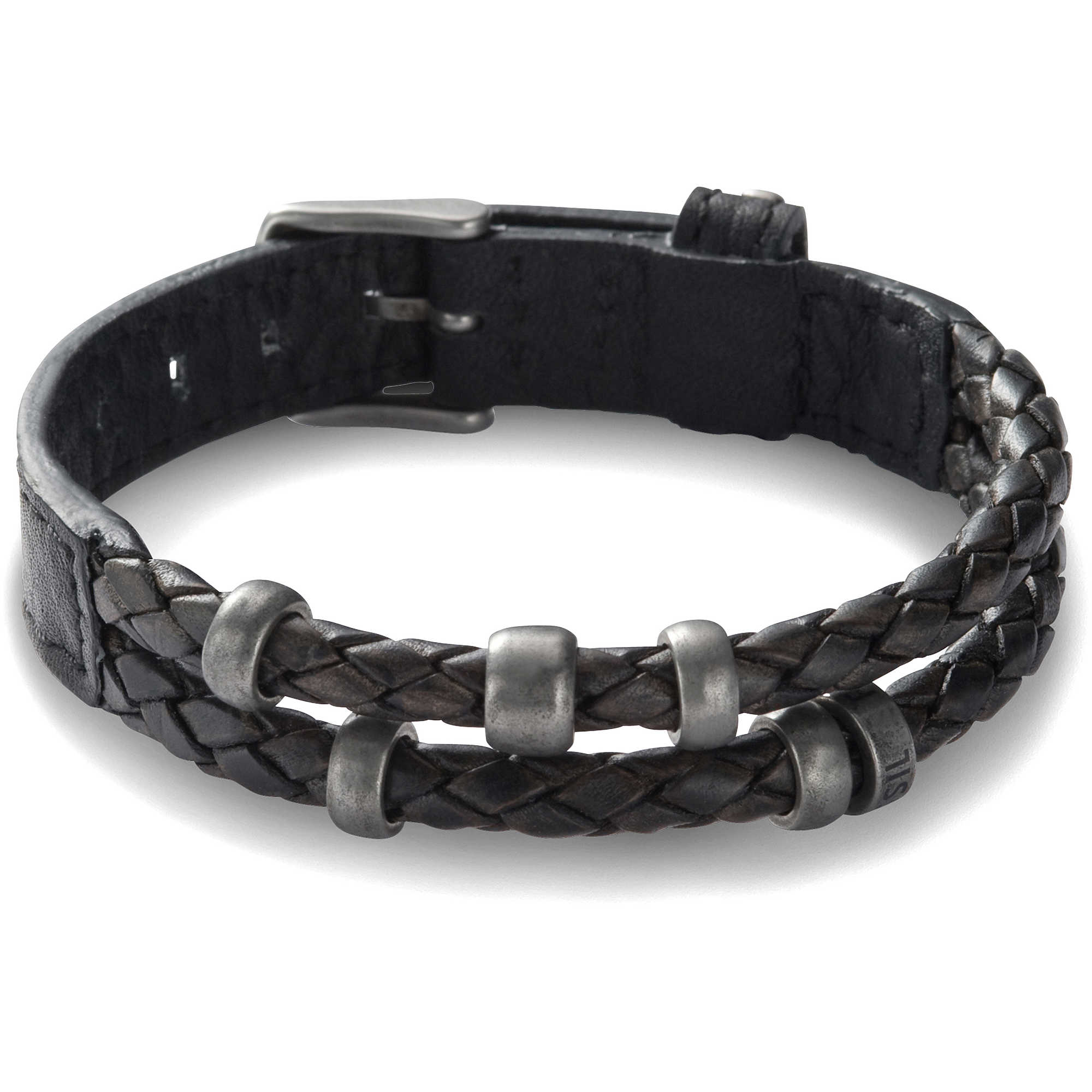 bracelet homme bijoux fossil jf85460040 bracelets fossil. Black Bedroom Furniture Sets. Home Design Ideas