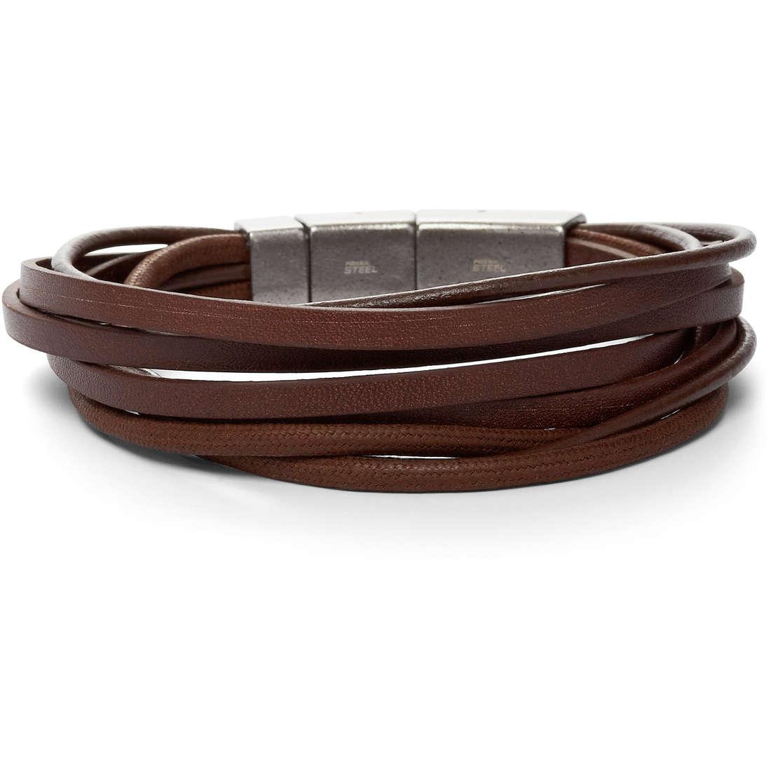 bracelet homme bijoux Fossil JF86202040