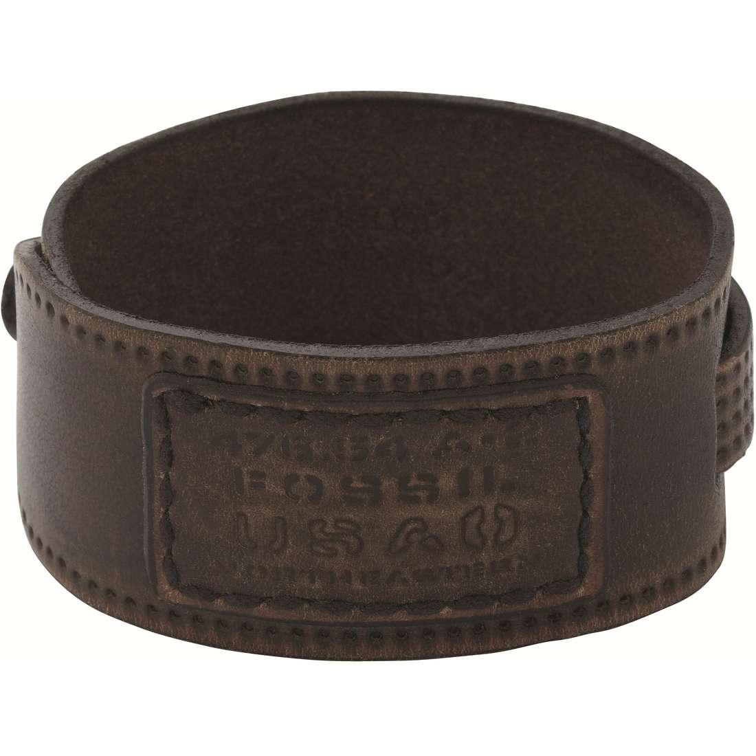 bracelet homme bijoux Fossil JF86937040