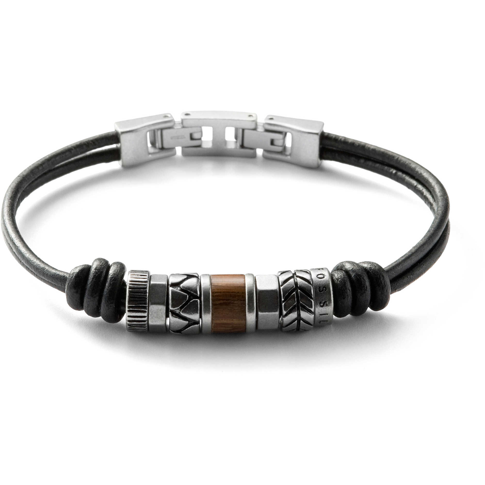 bracelet homme bijoux fossil spring 09 jf84196040 bracelets fossil. Black Bedroom Furniture Sets. Home Design Ideas