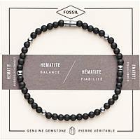 bracelet homme bijoux Fossil Wellness JF02834040