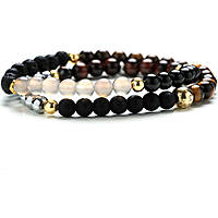 bracelet homme bijoux Gerba Stone Classic ELEGANTE DOUBLE
