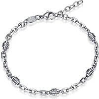 bracelet homme bijoux Luca Barra Casual LBBA800