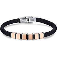 bracelet homme bijoux Luca Barra Casual LBBA829