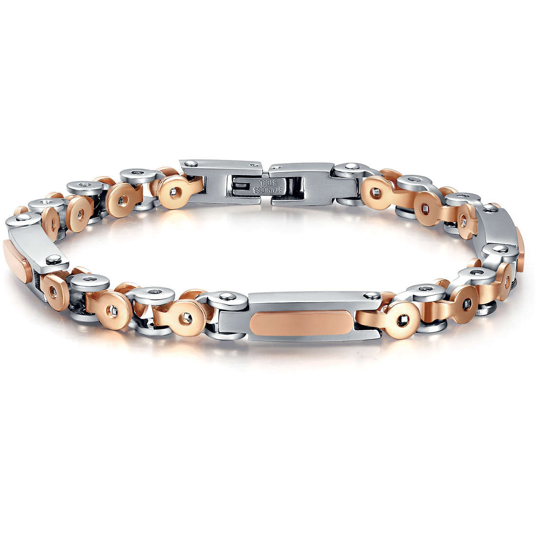 bracelet homme bijoux Luca Barra LBBA536