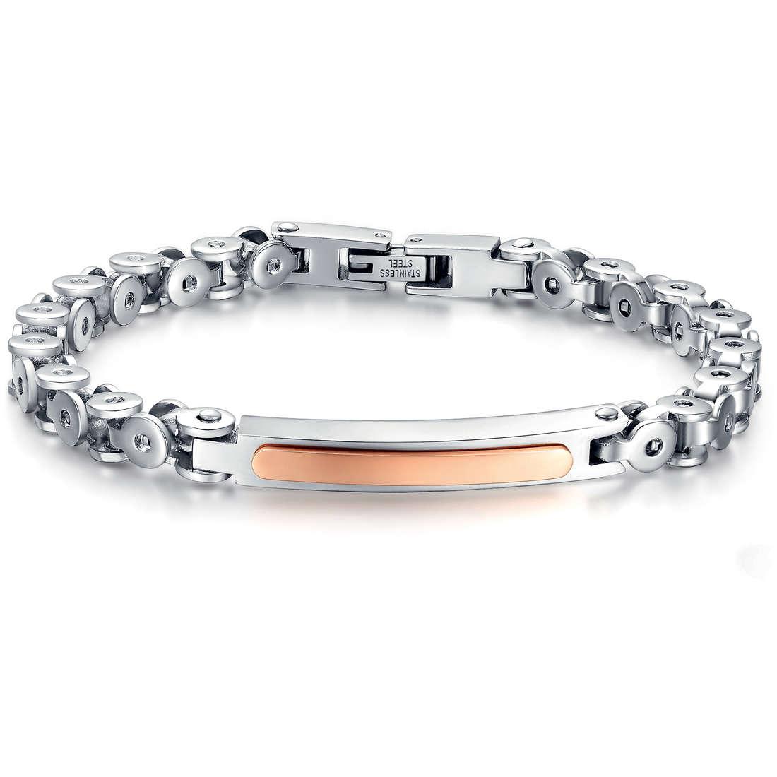 bracelet homme bijoux Luca Barra LBBA539