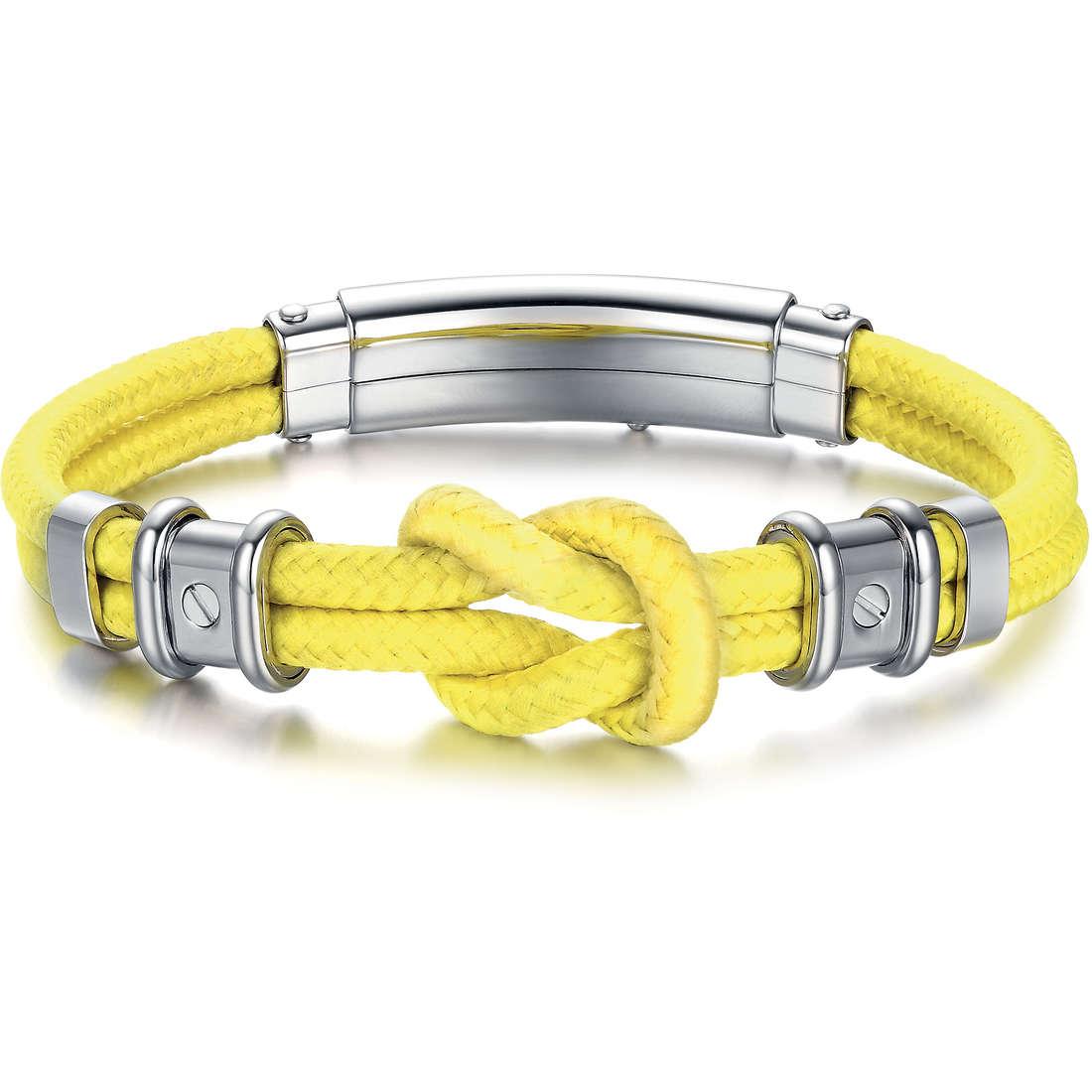 bracelet homme bijoux Luca Barra LBBA571