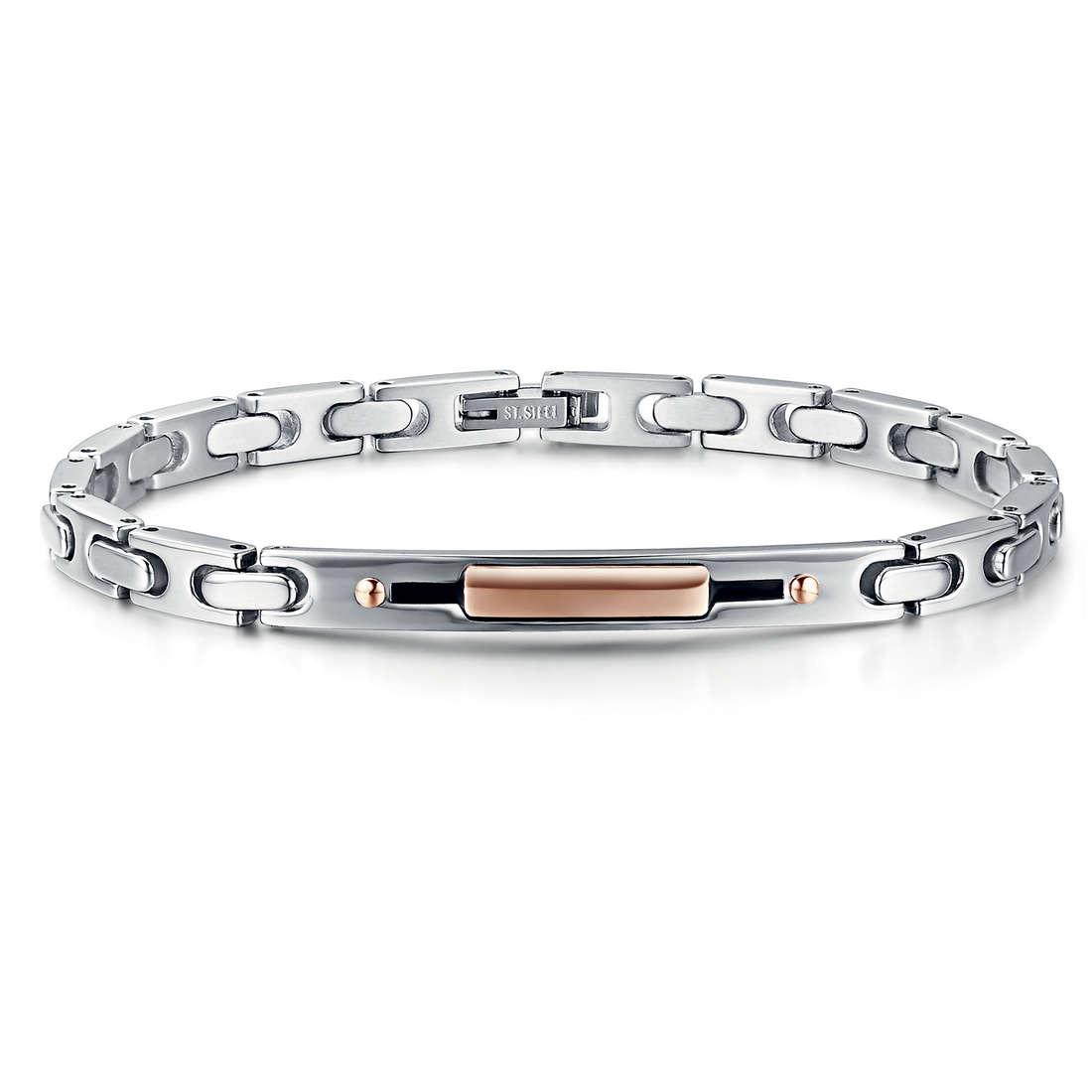 bracelet homme bijoux Luca Barra LBBA616