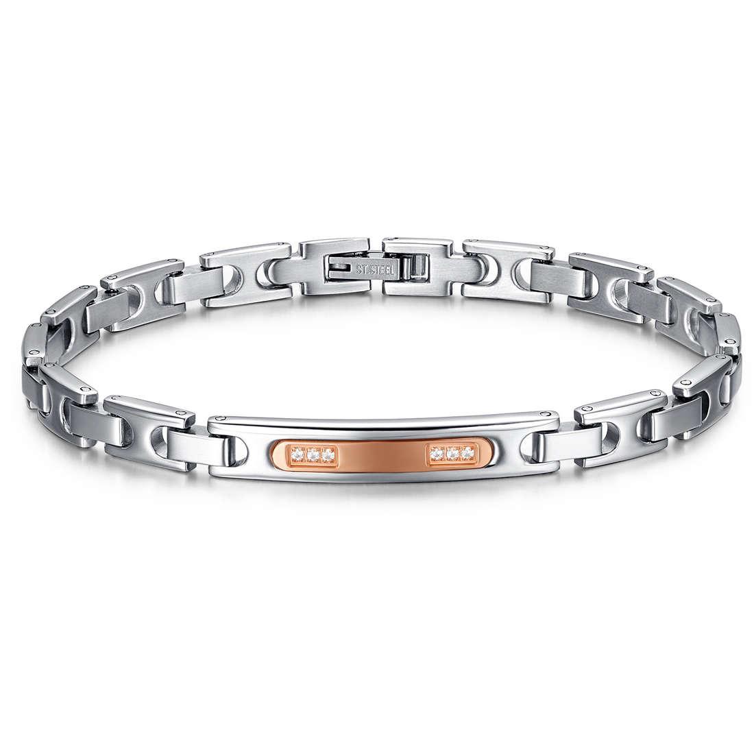 bracelet homme bijoux Luca Barra LBBA732