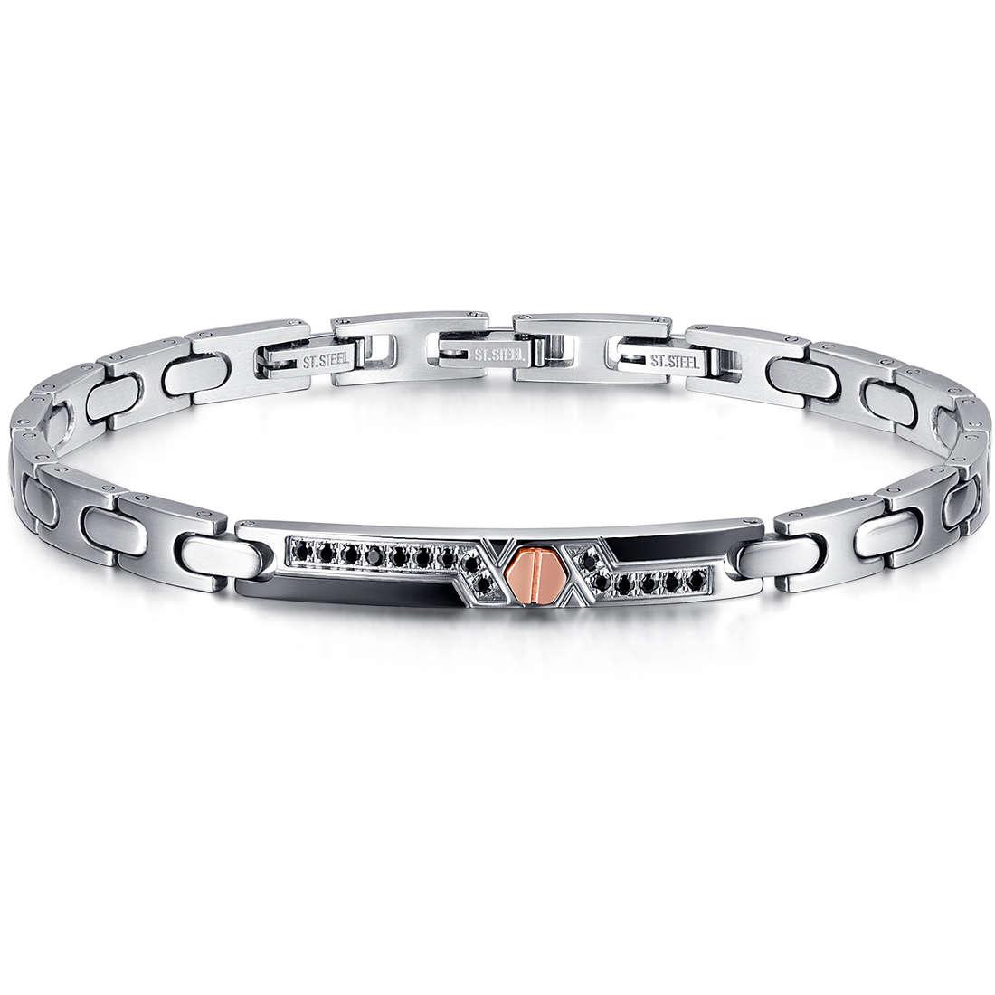 bracelet homme bijoux Luca Barra LBBA779