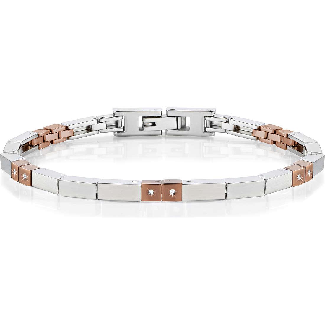 bracelet homme bijoux Morellato Alfa SAEV21