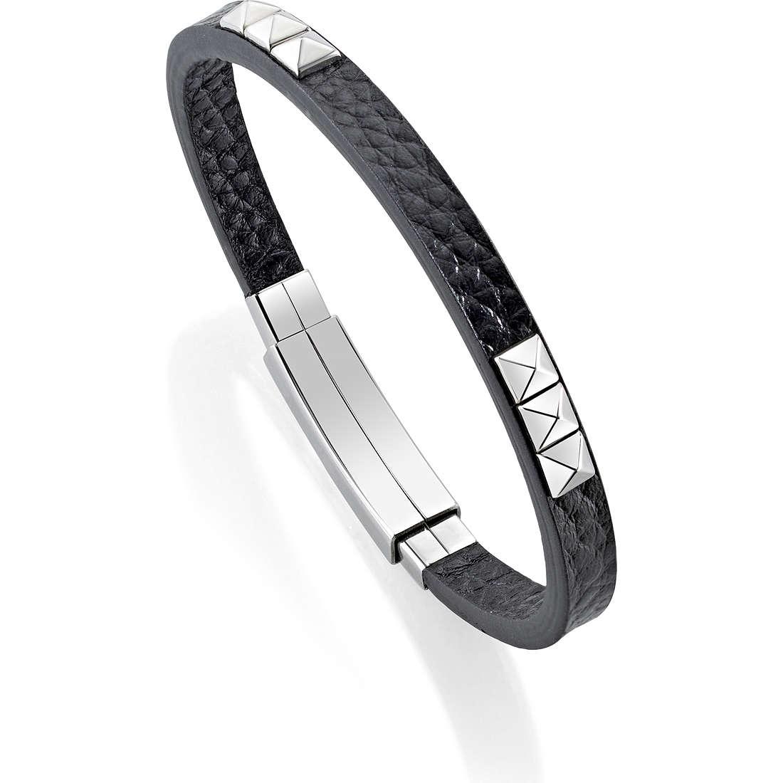 bracelet homme bijoux Morellato Studs SADT03