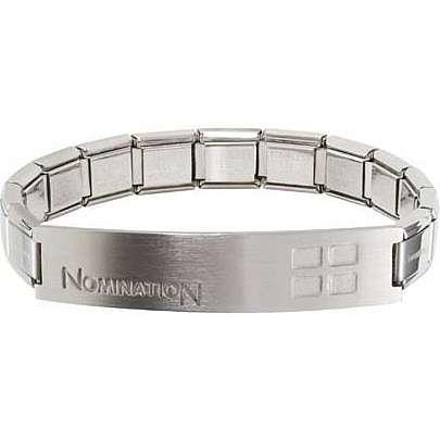 bracelet homme bijoux Nomination Trendsetter 021108/006/003
