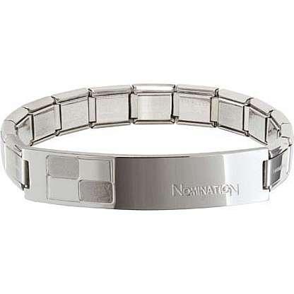 bracelet homme bijoux Nomination Trendsetter 021108/006/004