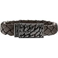 bracelet homme bijoux Police Alligator S14AHW04B