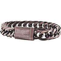 bracelet homme bijoux Police Proof S14AGT02B