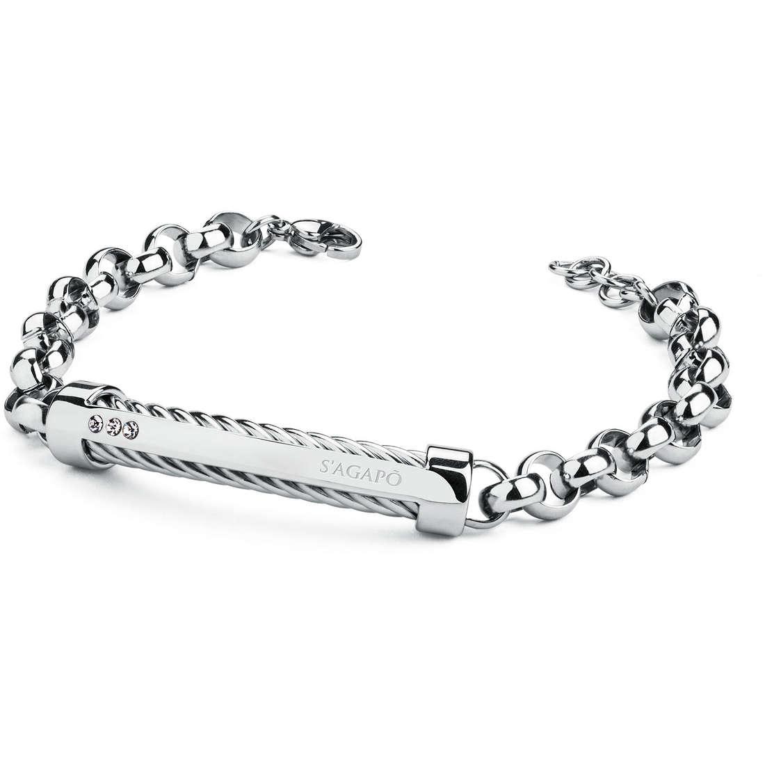 bracelet homme bijoux Sagapò POLE SAGAPOSPO11
