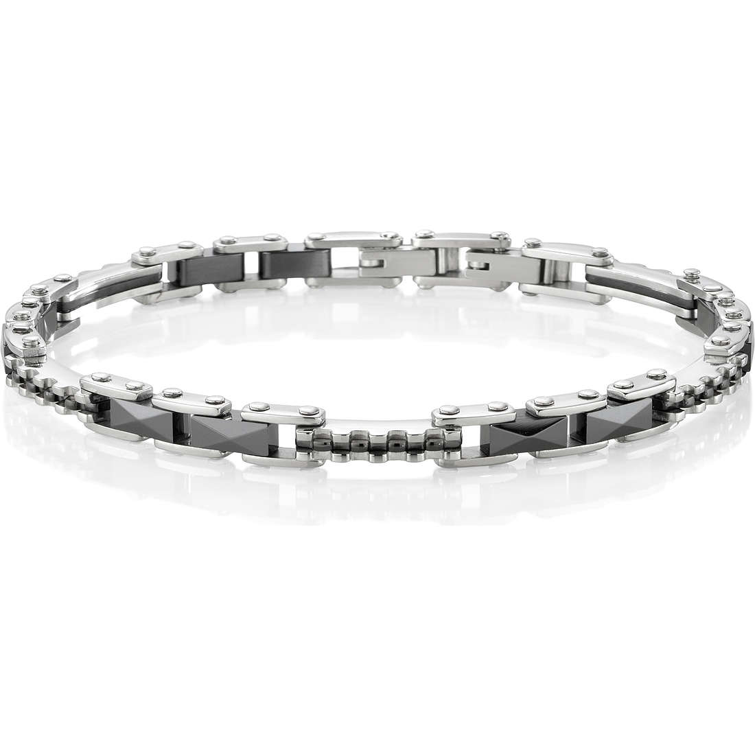 bracelet homme bijoux Sector Ceramic SAFR03