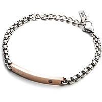 bracelet man jewellery 4US Cesare Paciotti Gold Day 4UBR2031