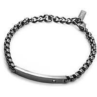 bracelet man jewellery 4US Cesare Paciotti Grey Day 4UBR2033